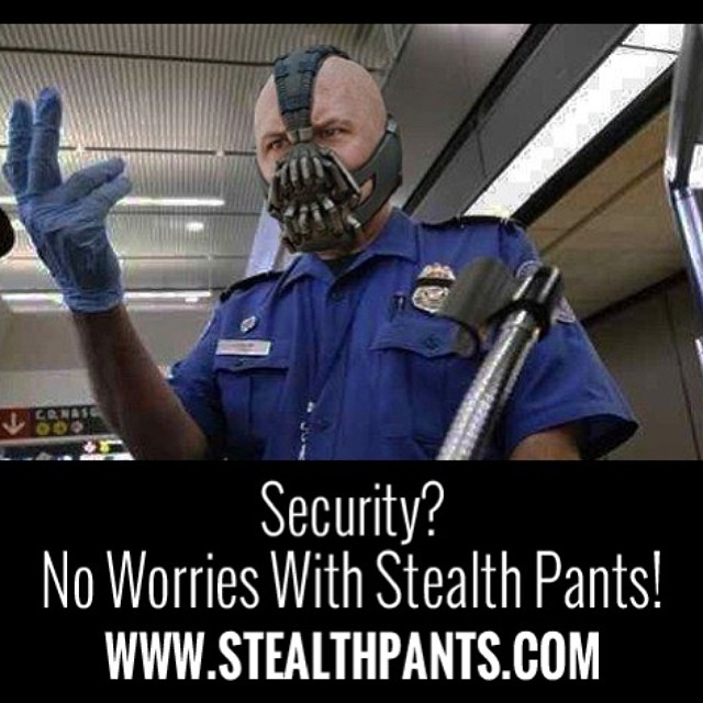 Get past security with the ultimate pair of stash boxers to protect your valuables